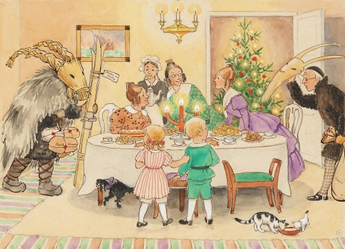 elsa beskow christmas table (2)500