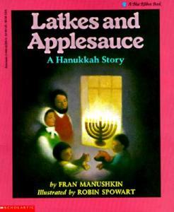 latkes and applesauce