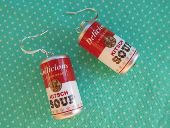 soup earrings