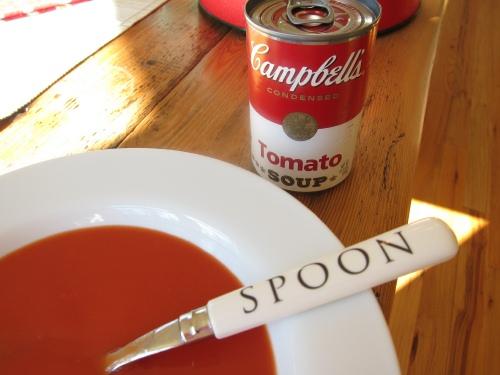 tomato soup two 500