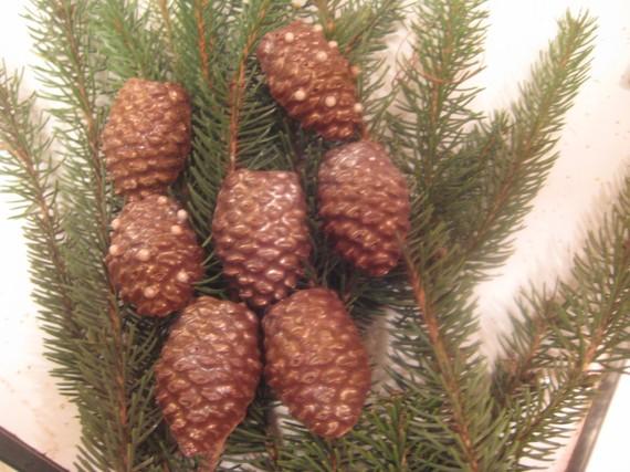 choco pine cones