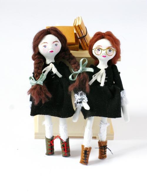 julie and cleo schoolgirls 500