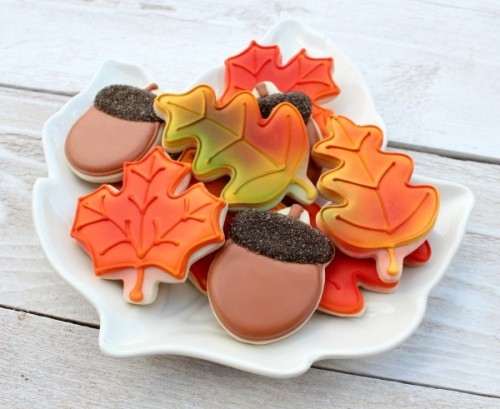 leaf cookies