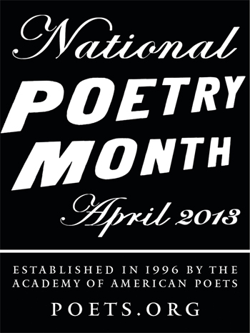 poetry month 2013 logo