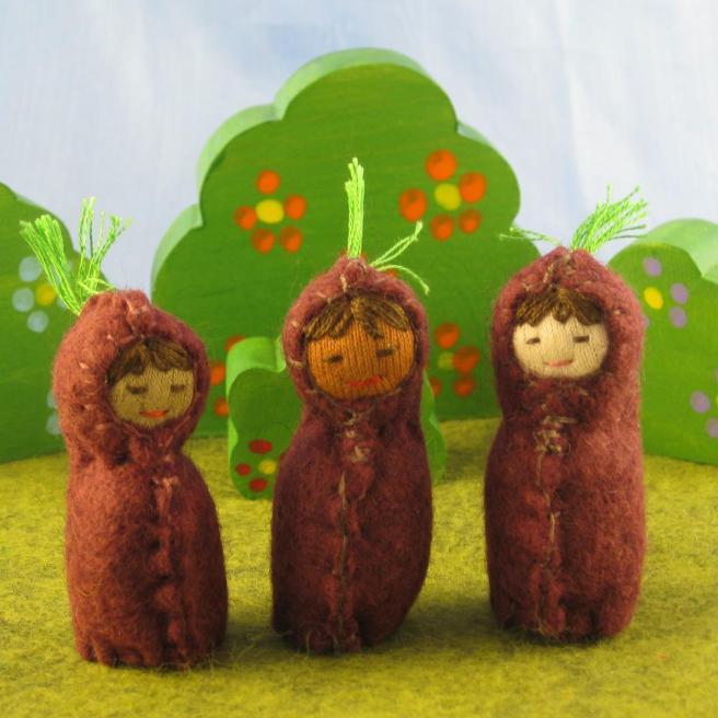 3 root children