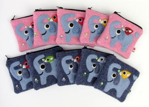 Elephant pouches