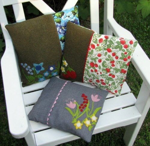 Summery pillowcases