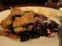 Blueberry Pie at York Harbor Inn