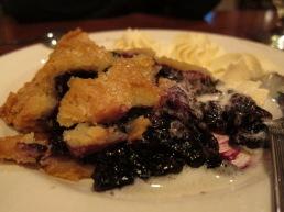 Blueberry Pie at York Harbor Inn