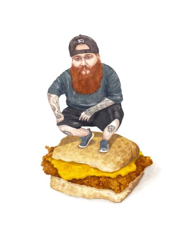 sandwichactionbronsonchickencheddarbiscuit