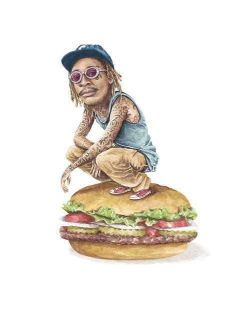 sandwichwizkhalifaonburgerkingwhopper