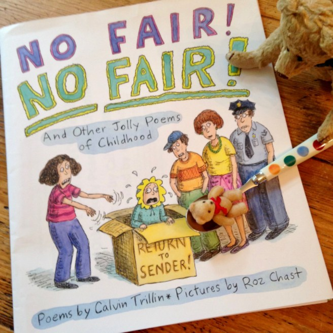 Book Review No Fair No Fair And Other Jolly Poems Of Childhood By