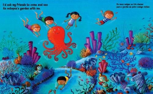 Wet And Salty Review Ringo Starr S Octopus S Garden With Art By Ben Cort Jama 39 S Alphabet Soup