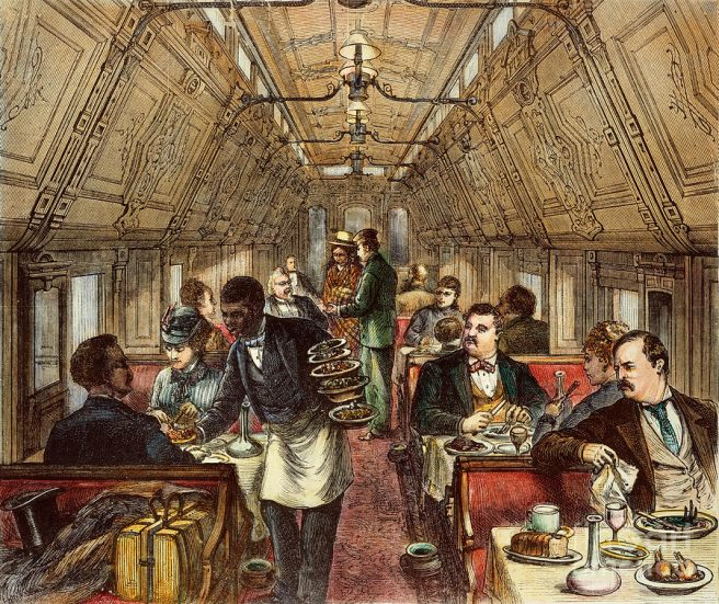 all aboard for the dining car! | Jama's Alphabet Soup