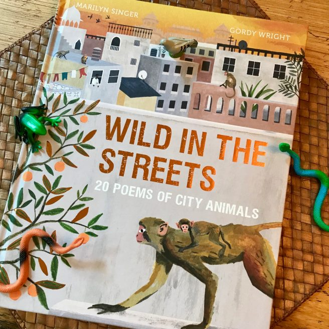 review + giveaway] Wild in the Streets: 20 Poems of City Animals by Marilyn  Singer and Gordy Wright | Jama's Alphabet Soup