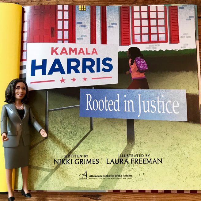 Review Recipe Giveaway Kamala Harris Rooted In Justice By Nikki Grimes And Laura Freeman Jama S Alphabet Soup